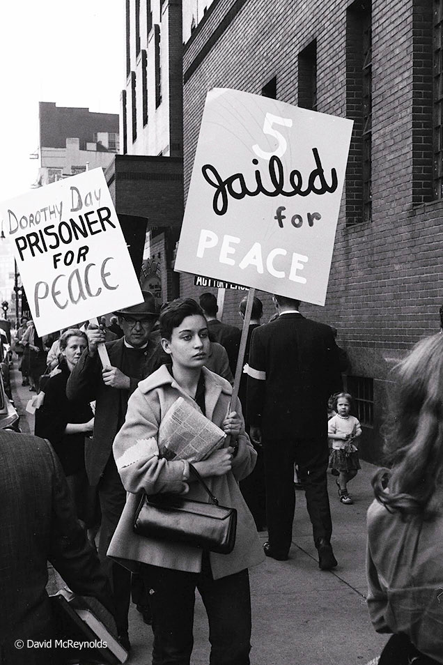 Rally in Support of Dorothy Day, 1959