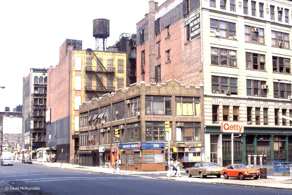 1978 – 339 Lafayette Street, New York City.