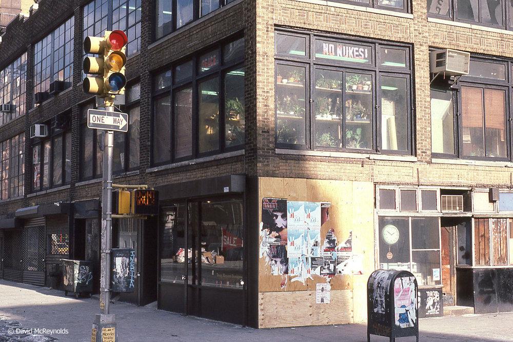 1985 – 339 Lafayette Street, New York City.