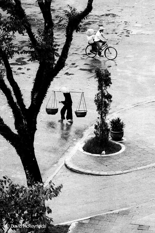 Street scene. Hanoi, 1971.