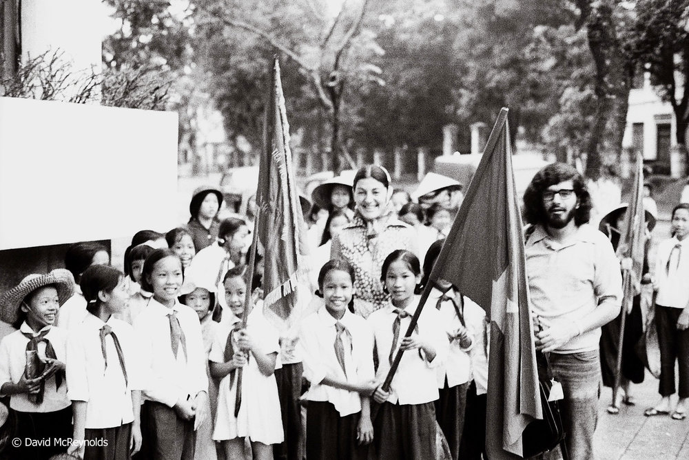 Youth rally, Hanoi 1971.