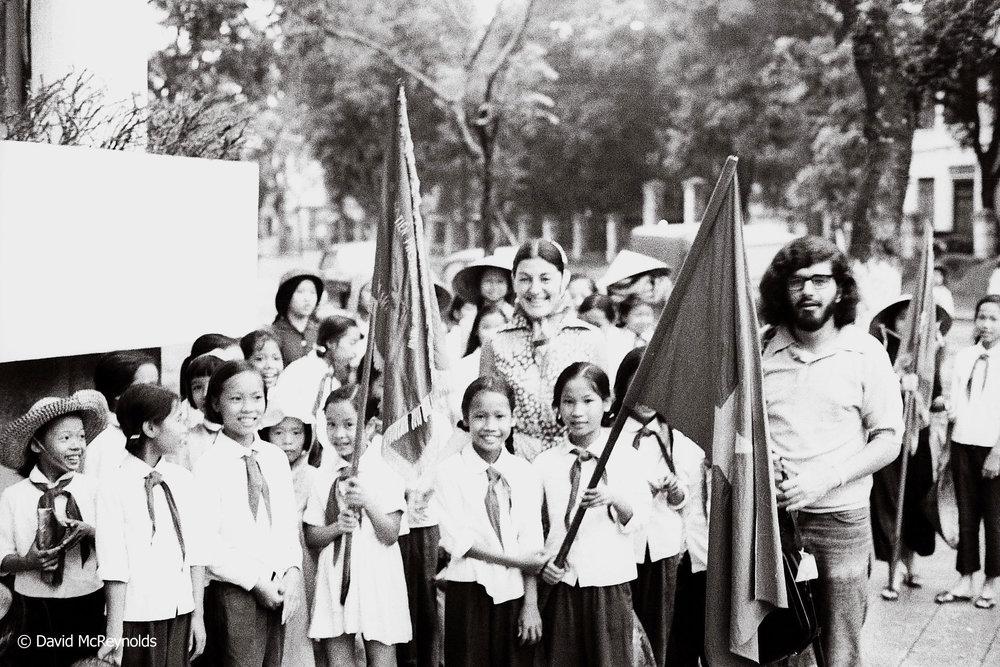 Youth rally, Hanoi 1971.
