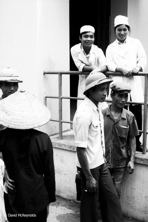 Hospital staff. Hanoi, 1981.