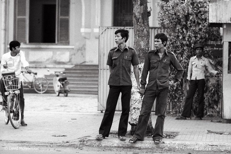 Cambodia street scene.