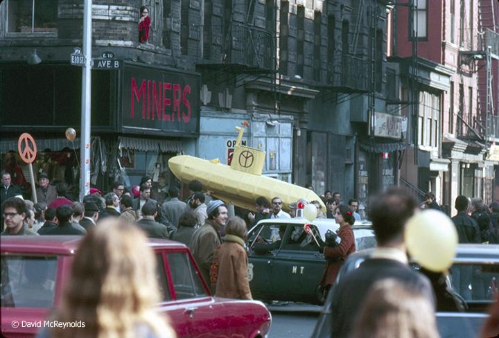 The Yellow Submarine Launching March