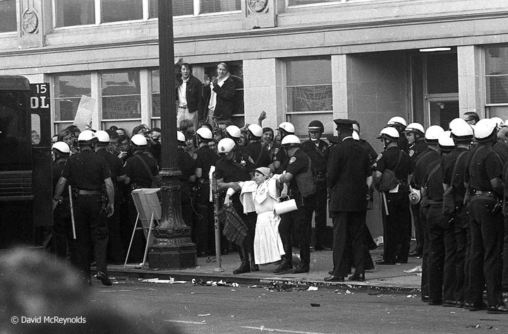 Oakland Draft Board Sit-In Oct 1967