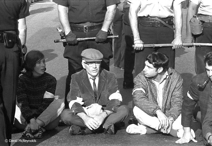 Oakland Draft Board Sit-In Oct 1967