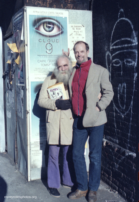 David and Igal Roodenko. East Village, 1970s.