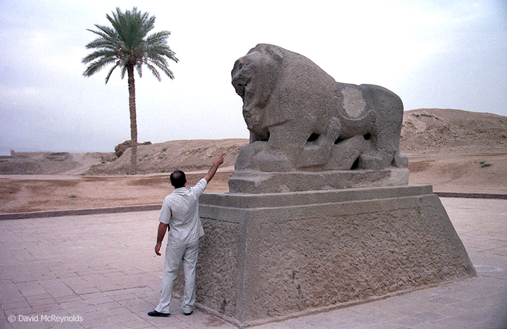 The Babylon Lion, October 1990.