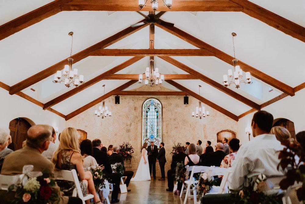 chapel in the vineyard wedding