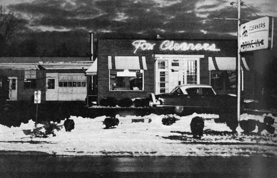 Fox Cleaners c. 1956
