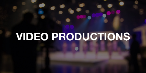 Our experienced directors and videographers use the latest technology and the industry's filming standards to professionally capture your event on video.     >>  LEARN MORE
