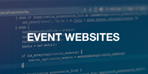 Your event website is the visual representation of your organization. You want to ensure that your website functions and conveys the right message.   >>    LEARN MORE