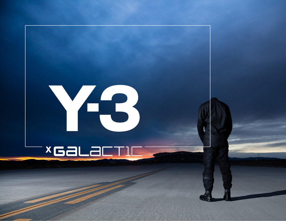 Y-3 x Virgin Galactic   Creative Business Strategies,Marketing and Creative Direction