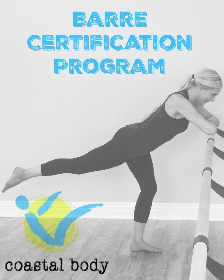Get Certified Coastal Body Barre Instructor Certification