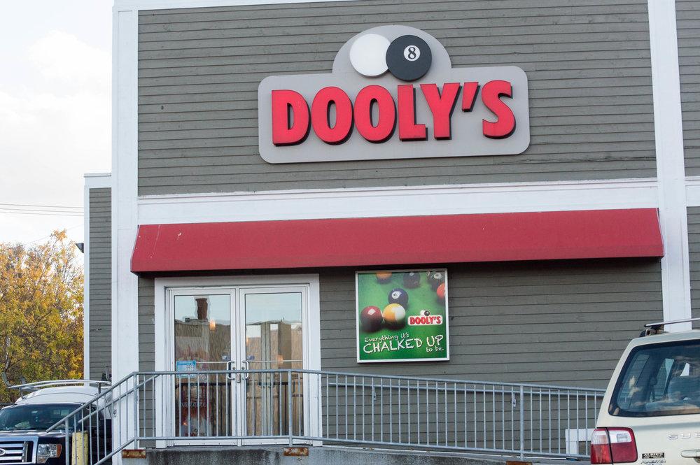 Dooly's Antigonish location. Photo courtesy of Jessica Fullerton.