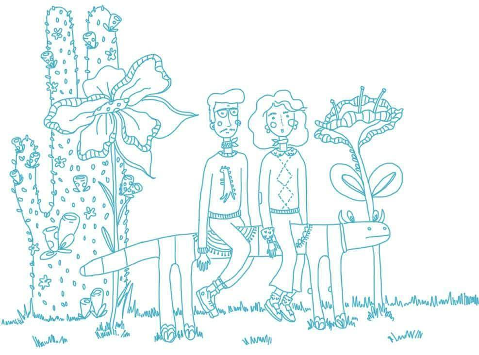 Artwork by Alejandra macouzet