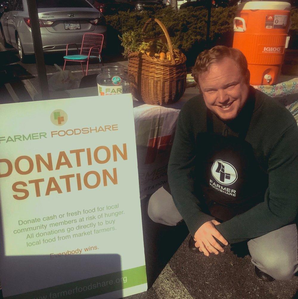 Superstar Volunteer Tom Melton
