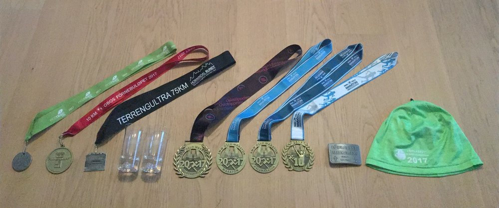 2017 medal collection