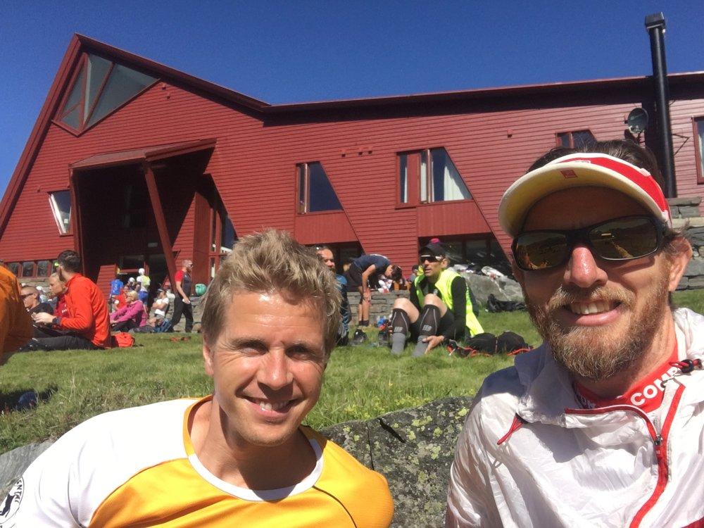 Lars og Tom er klare til start