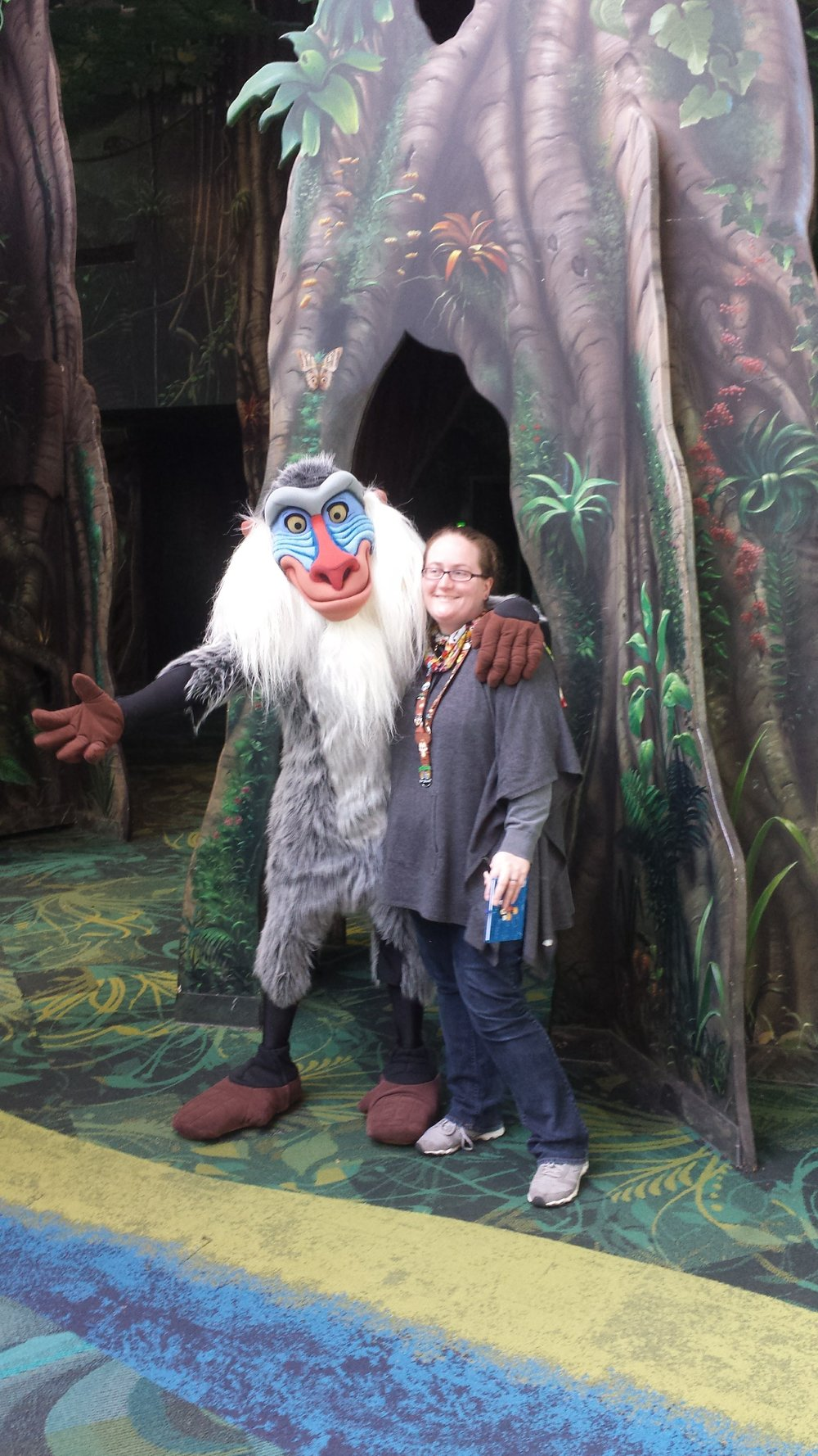 Rafiki had no line this time!