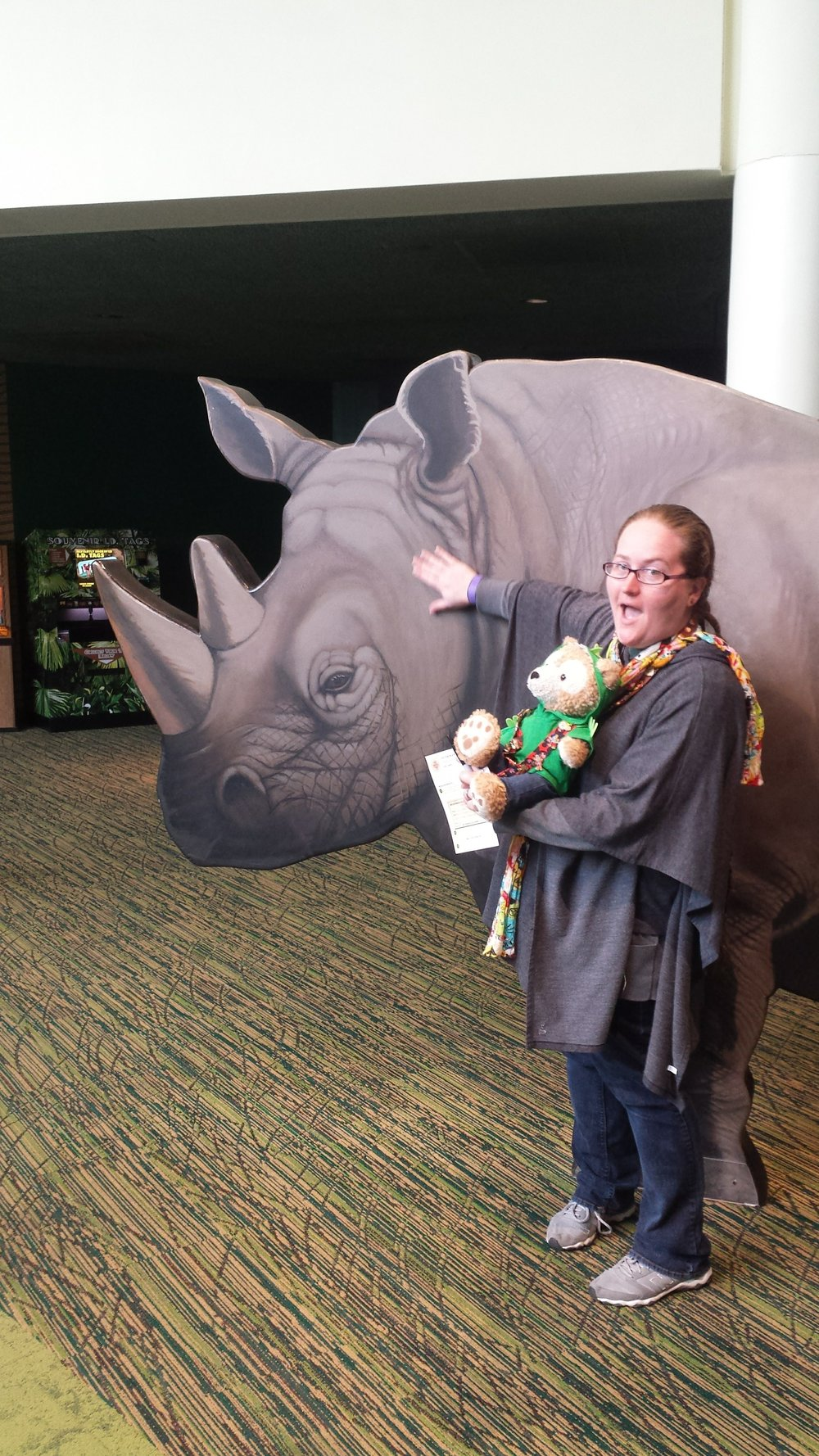 I love rhinos.