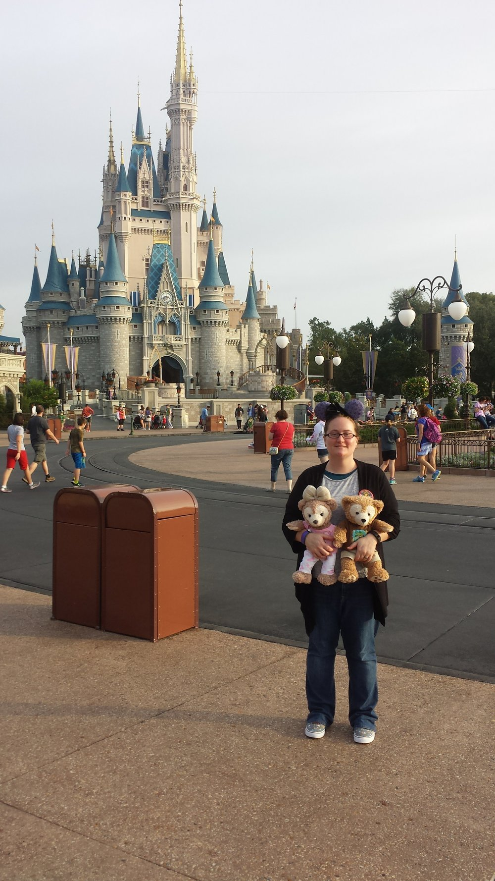 Our first day, in the Magic Kingdom!