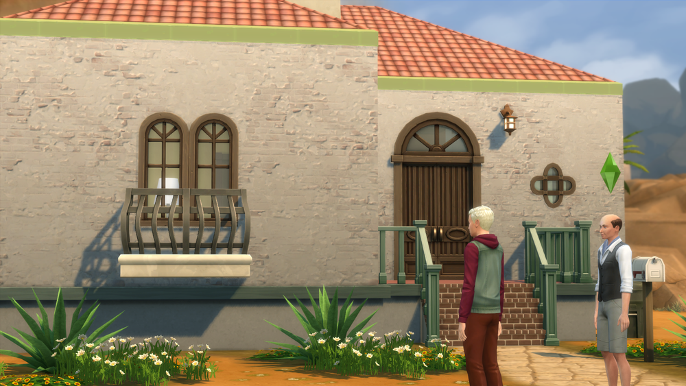 Gordon & Salvador are roommates in Oasis Springs.