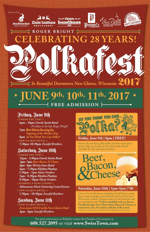 New Glarus Polka Fest