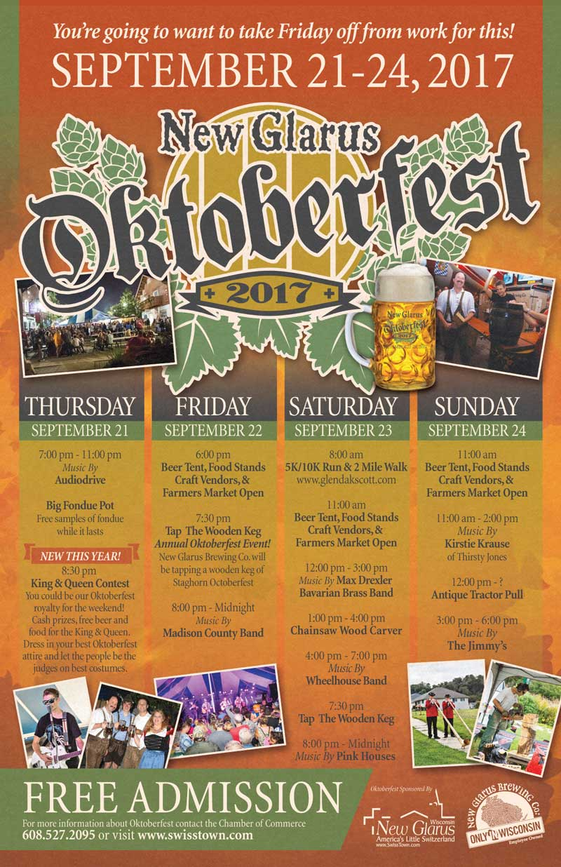 New Glarus Wisconsin Oktoberfest