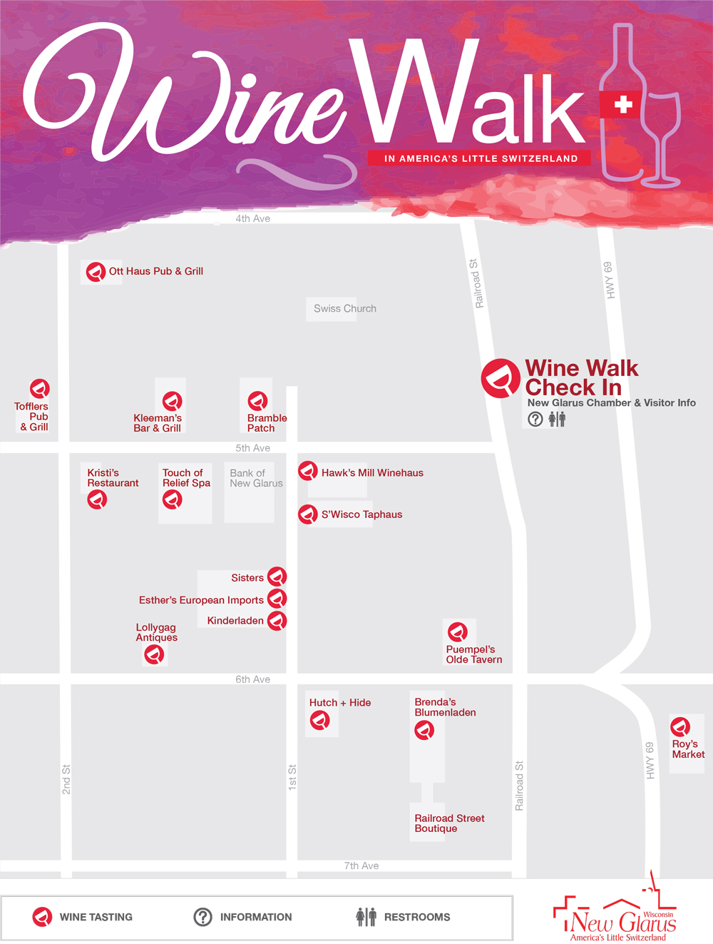 New Glarus Wine Walk