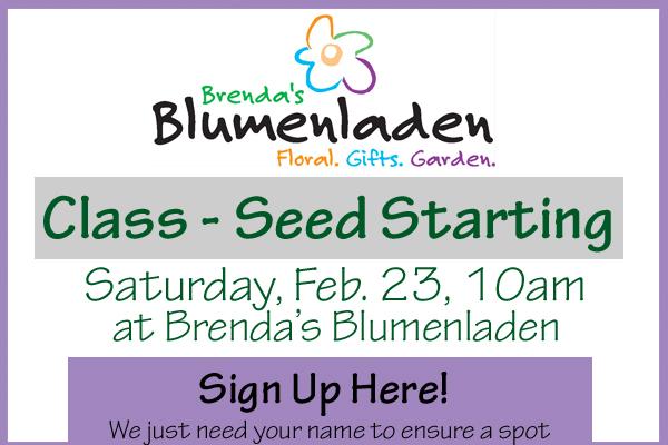 New Glarus Shop Event at Brenda's Blumenladen