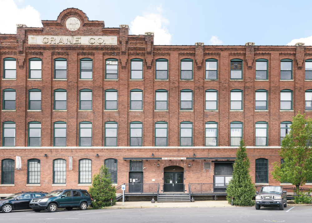 The Crane Arts Building is home to creative businesses and artists.
