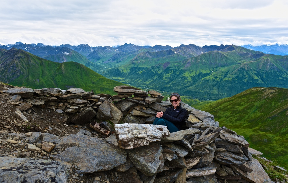 Top of Hatcher Pass - April Bowl