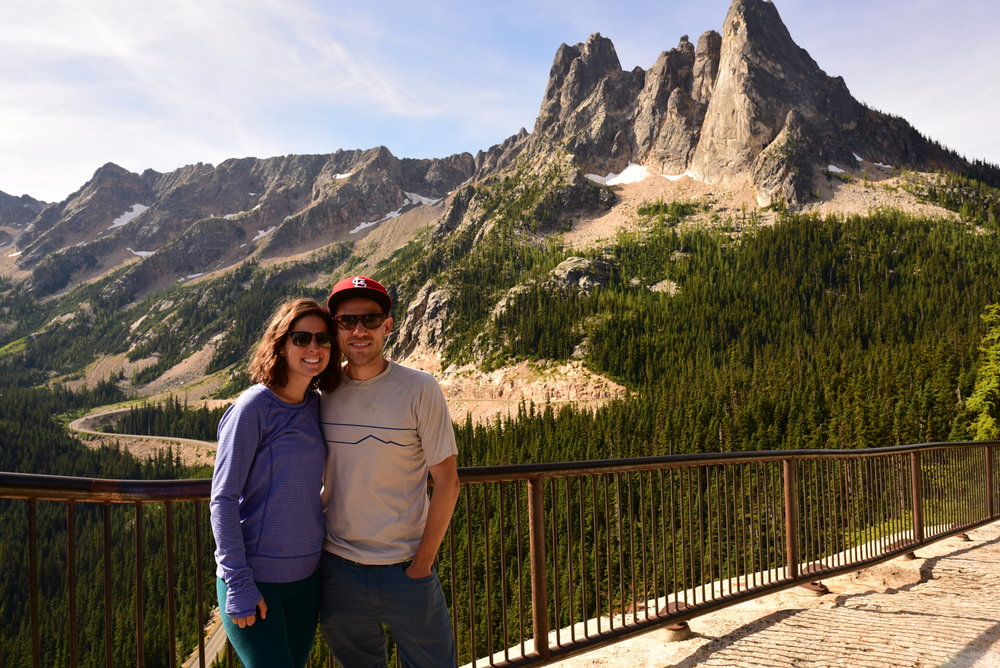 Liberty Bell on Washington Pass