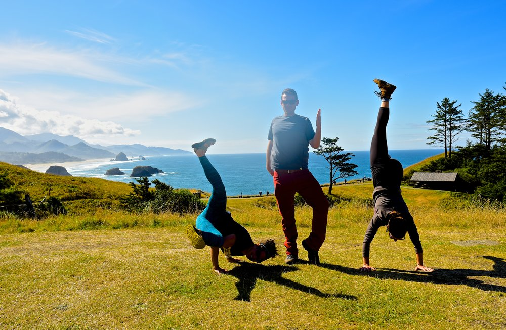 Break it down now at Ecola State Park
