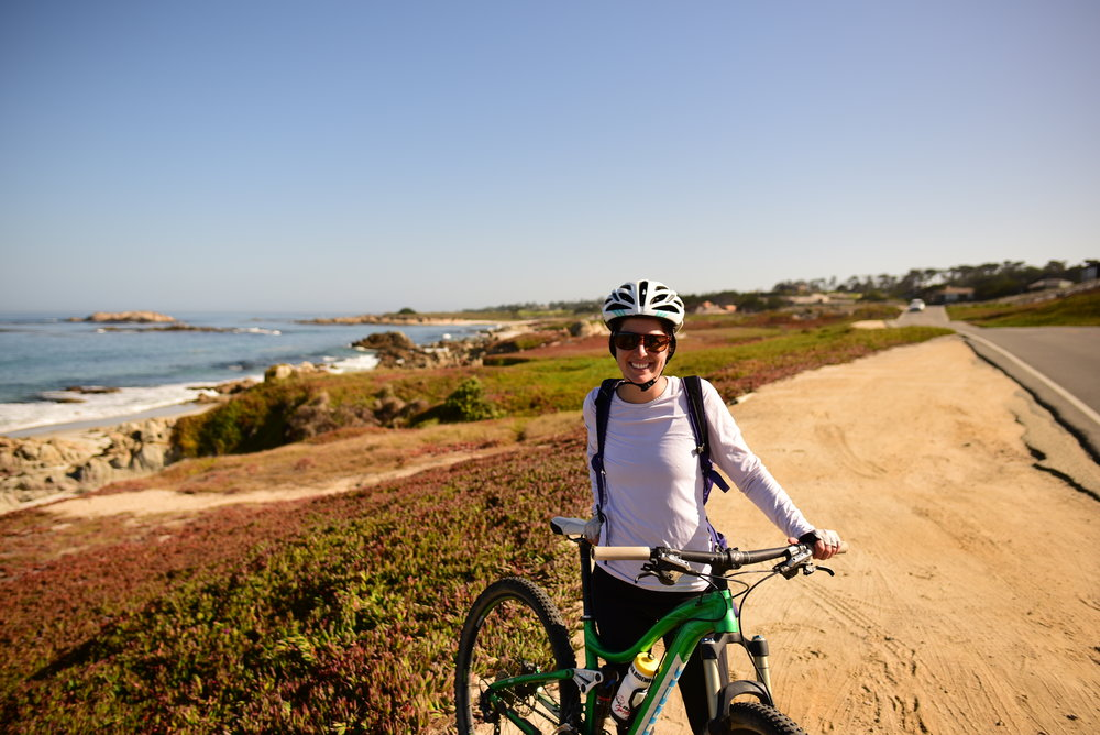 Soaking up the sun and the views from Monterey to Carmel