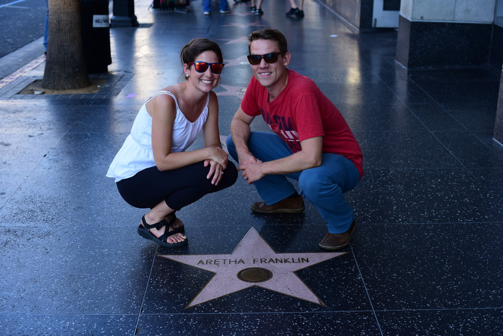 Finding some of the classics of the Hollywood Stars