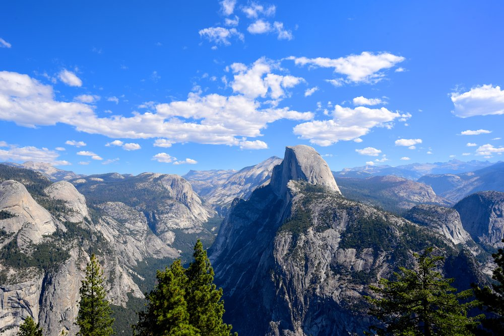 Half Dome view from Glacier Point