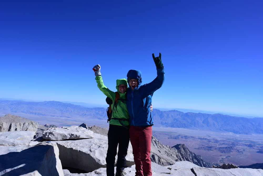 We made it to the top - 14,508 ft!!!!!!!!!