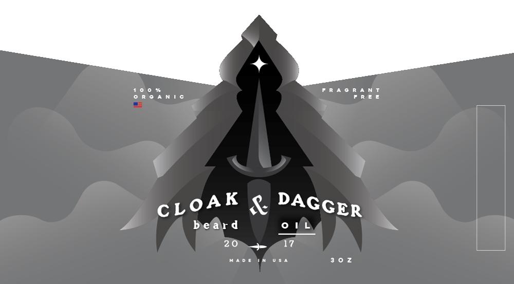 Label & Logo Design - For application on beard oil bottles
