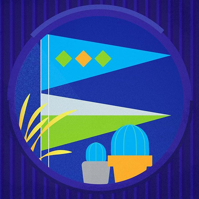 View from rm.02 ..... #design #illustration #vector #logo #minimal #color #shape #geometricdesign