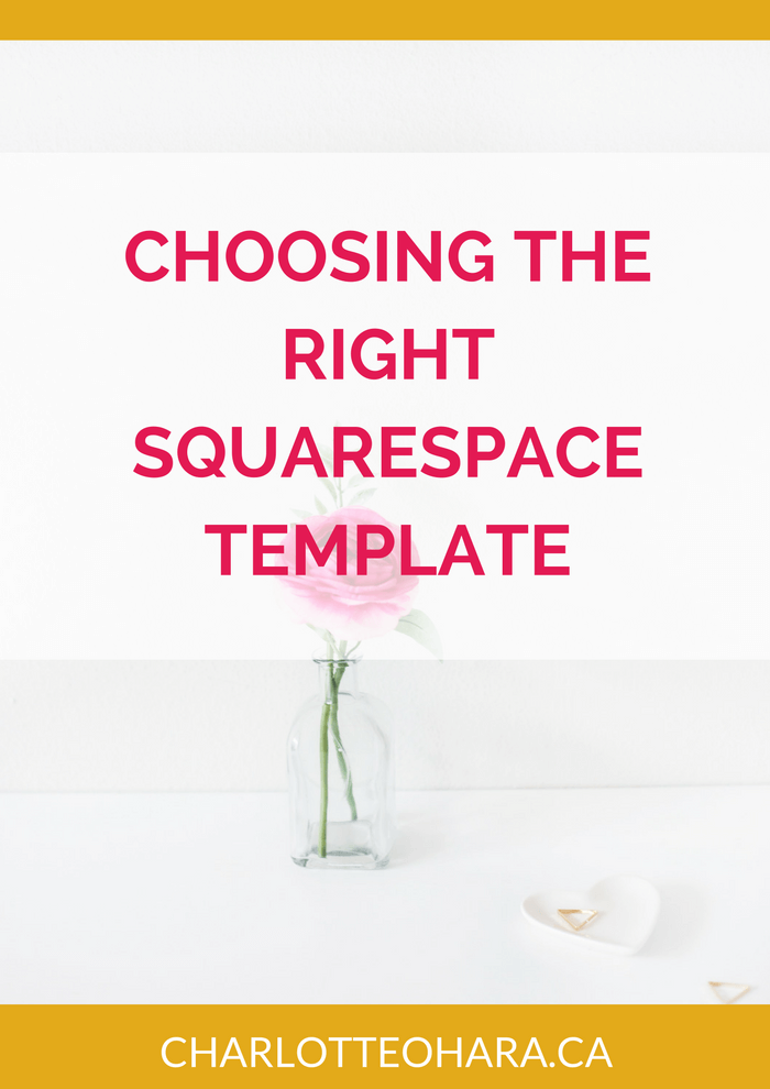 Choosing the Right Squarespace Template