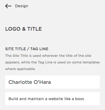 Update Site Title/Tag Line | Squarespace SEO Series | how to optimize your squarespace settings for seo