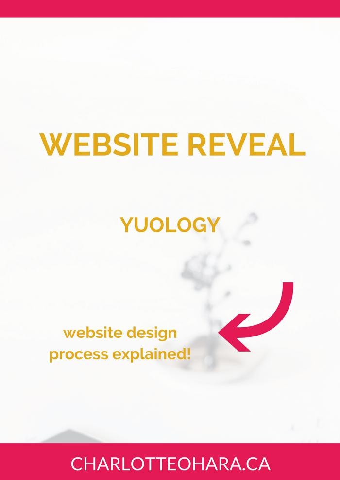 Website reveal yuology | website redesign | web design