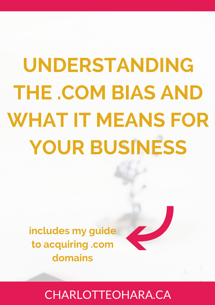 Understanding .com bias and what it means for your business