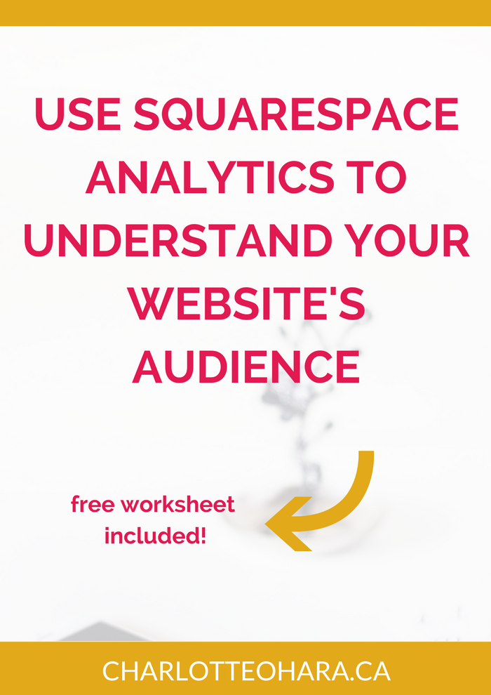 How to use Squarespace analytics to better understand your website's audience