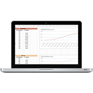 Website Growth Tracker Mockup | Charlotte O'Hara