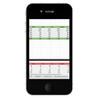 Income Tracker Mockup Mobile