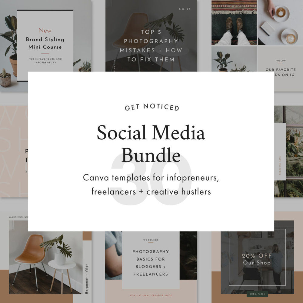 STNSVN Station Seven social media bundle
